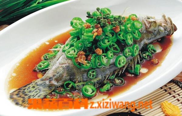 果蔬百科桂鱼的营养价值与功效